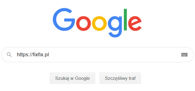 Narzędzia SEO - Wyszukiwarka Google
