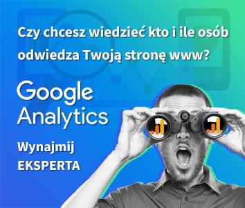Ekspert Google Analytics / fixfix.pl